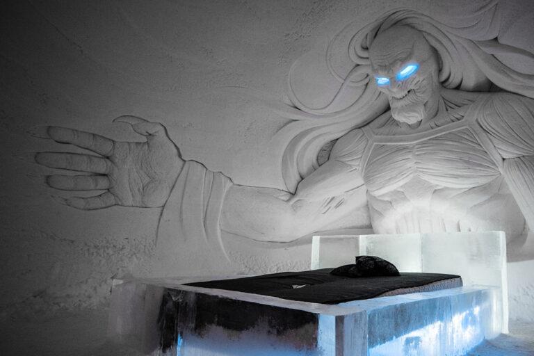 Trónok harca jéghotelbe aludhatsz Lapföldön