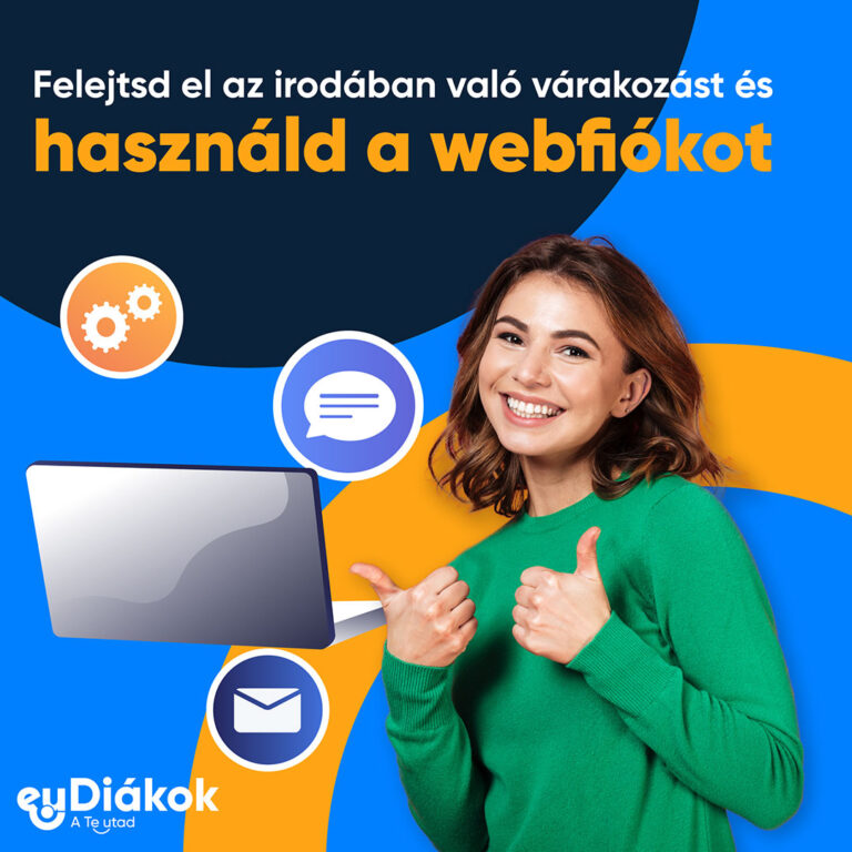 Használd a webfiókod!